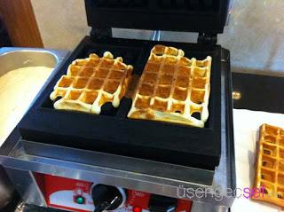 waffle yapimi