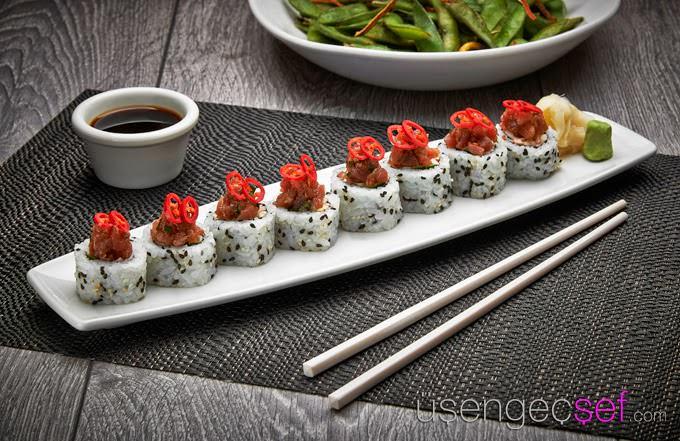philip-chiang-pf-changs-dragon-rolls-sushi