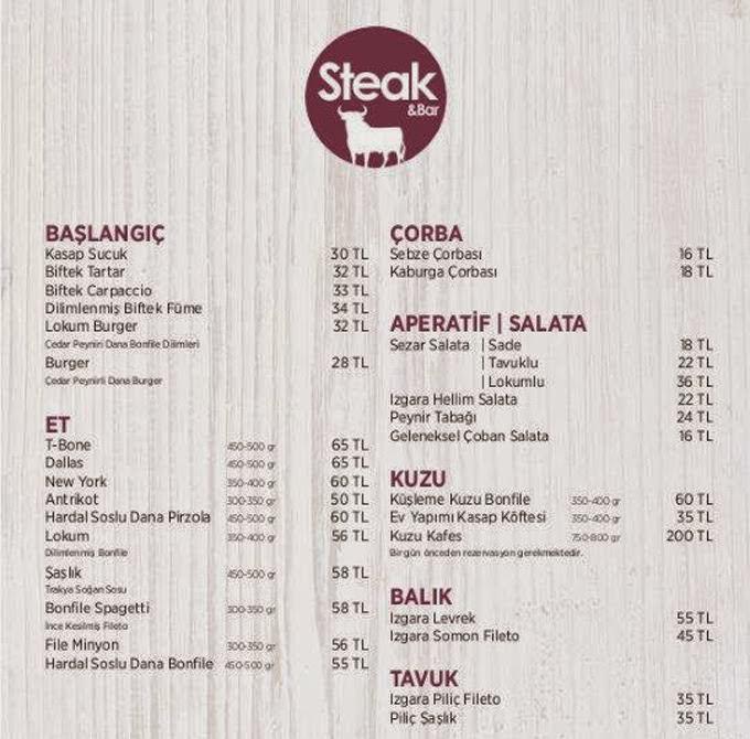 dresort-grand-azur-marmaris-steak-bar-restaurant-menu
