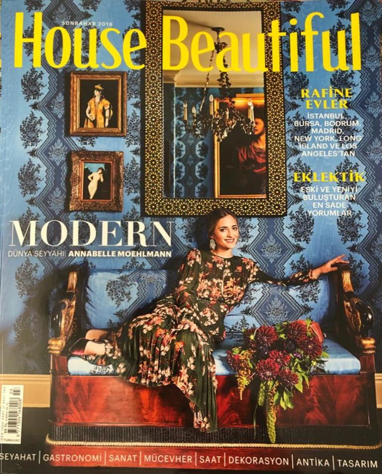 House Beautiful Dergisi , Gastronomi ve Seyahat Editörü Dilek Yeğinsü yazısı Chef Mezzze
