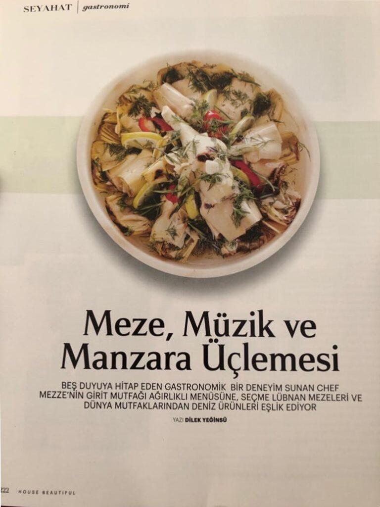 House Beautiful Chef Mezze Dilek Yeginsu 1