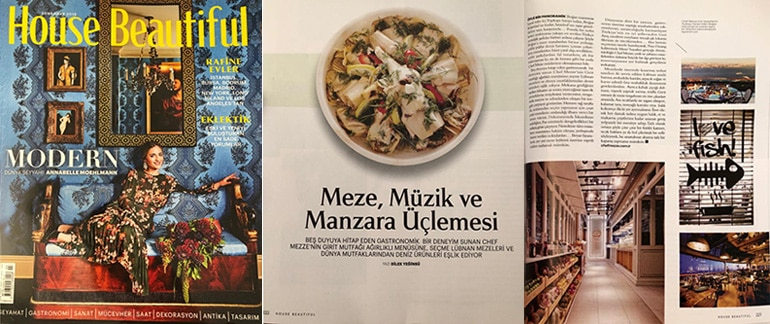 House Beautiful Dilek Yeginsü Chef mezze